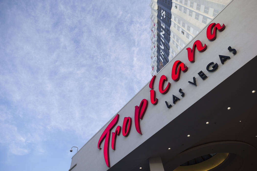 The Tropicana Las Vegas on the Las Vegas Strip. (Richard Brian/Las Vegas Review-Journal) @vegasphotograph