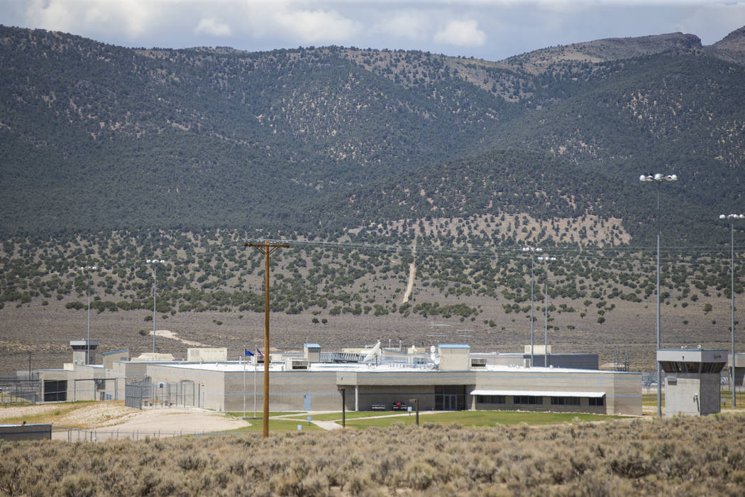 Ely State Prison in Ely on Wednesday, July 11, 2018. Chase Stevens Las Vegas Review-Journal @csstevensphoto