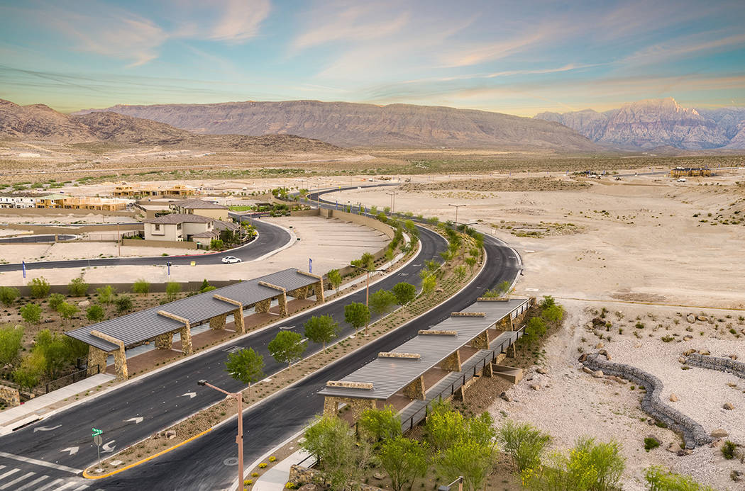 Summerlin was one of four Las Vegas master-planned communities that RCLCO ranked in the top 20 in U.S. for sales. (Summerlin)