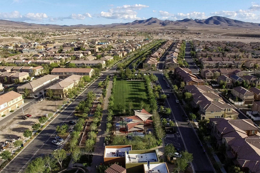 Inspirada in Henderson moved up one spot from ninth to eighth. (RJNewHomes.Vegas File Photo)