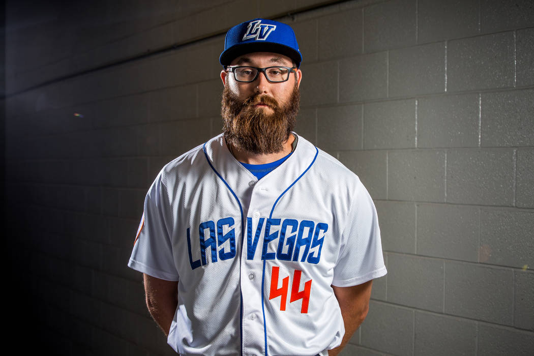 51s pitcher Matt Purke during the 51s media day at Cashman Field in Las Vegas on Tuesday, April 3, 2018. Patrick Connolly Las Vegas Review-Journal @PConnPie