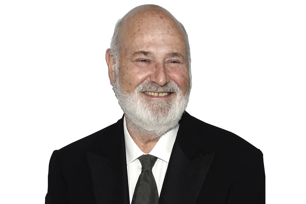 Filmmaker Rob Reiner, recipient of the Stanley Kramer Award for Social Justice, poses at the 9th Annual African American Film Critics Association Awards on Wednesday, Feb. 7, 2018, in Los Angeles. ...