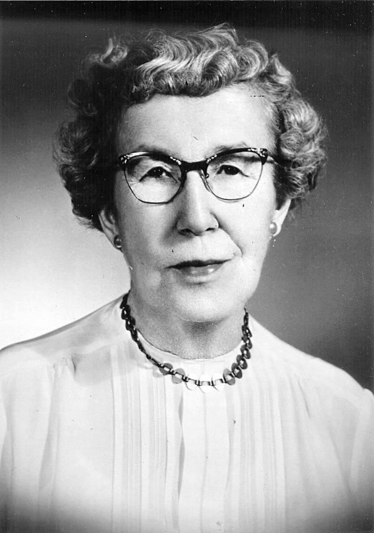 Maude Frazier (Las Vegas Review-Journal file)