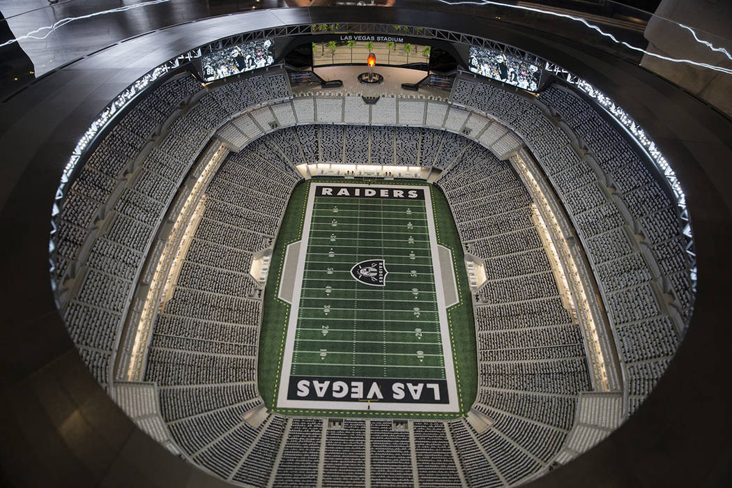 Las Vegas Raiders Stadium Club Psls To Cost Fans Up To 75k Each Las Vegas Review Journal