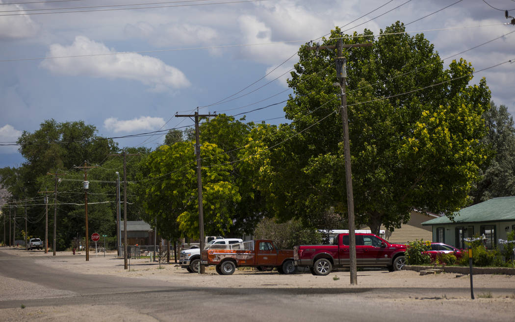 A view along 5th Street near the location of the deadly 2016 bombing in Panaca on Thursday, July 12, 2018. Chase Stevens Las Vegas Review-Journal @csstevensphoto