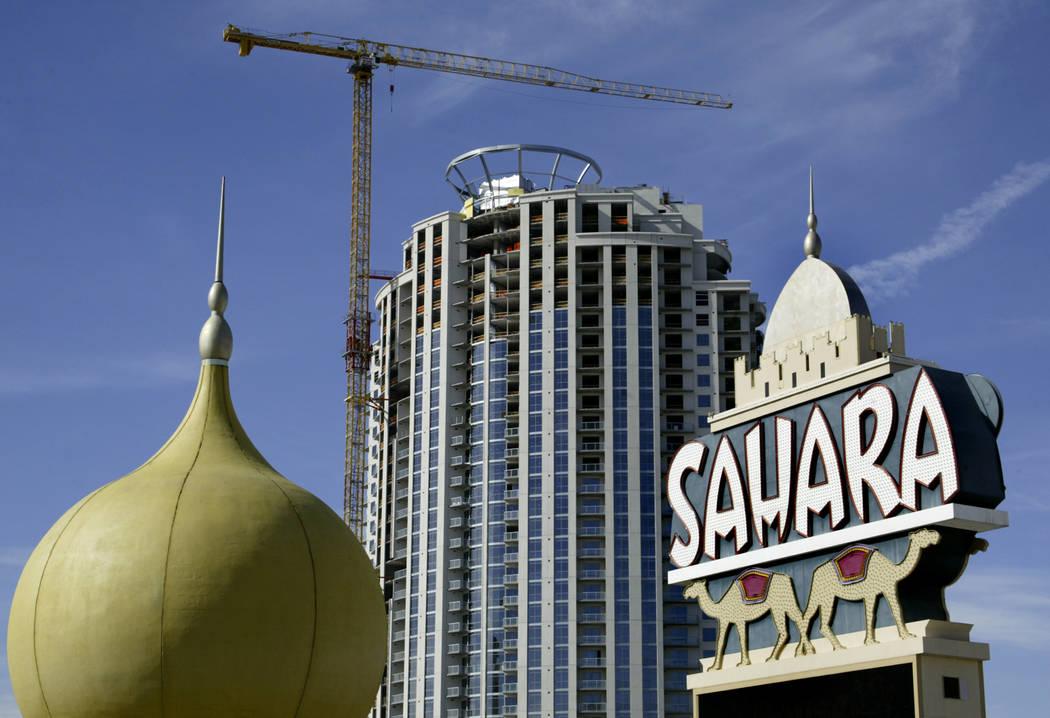 The Sahara on the Las Vegas Strip, March 5, 2007.