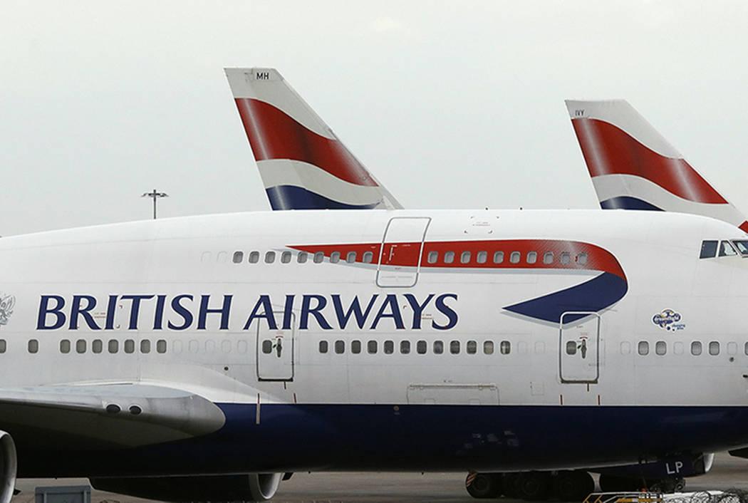 British Airways plane (AP file)