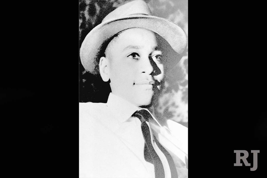 An undated file photo shows Emmett Louis Till from Chicago. (Courtesy of the family of Emmett Till via AP, File)