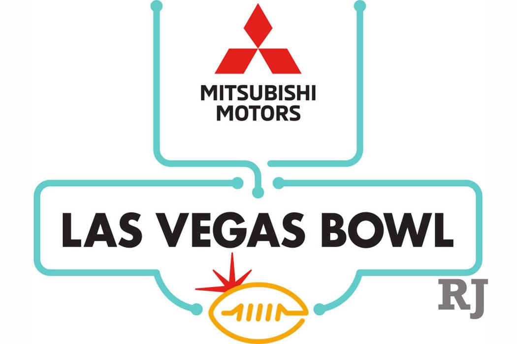 The logo for the Mitsubishi Motors Las Vegas Bowl. (Mitsubishi Motors Las Vegas Bowl)