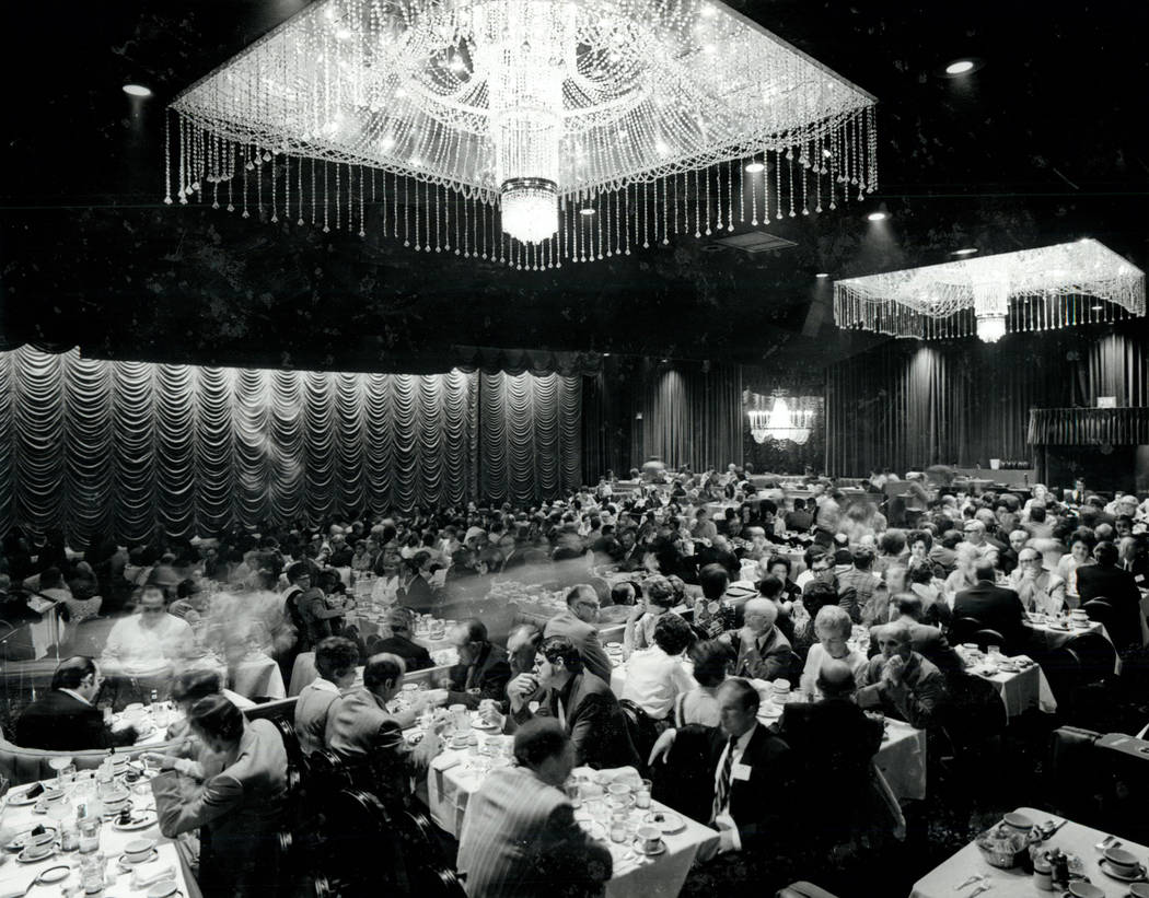 The Congo Room at the Sahara hotel-casino in 1985. (Las Vegas News Bureau)