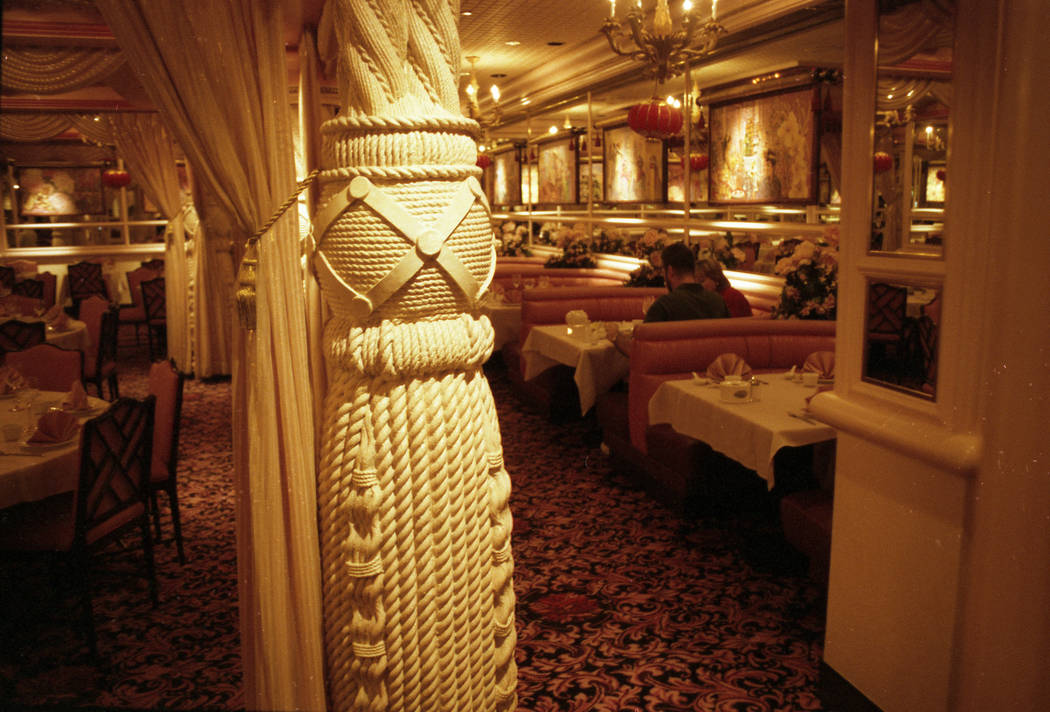 Images of The Range Steakhouse located at the Sahara hotel-casino in 1999. (Las Vegas Review-Journal File Photo)