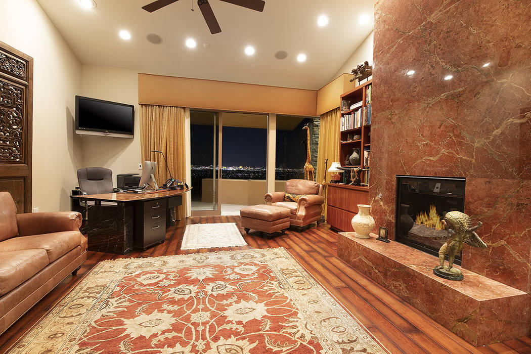 One of two offices in the home. (Synergy/Sotheby's International Realty)