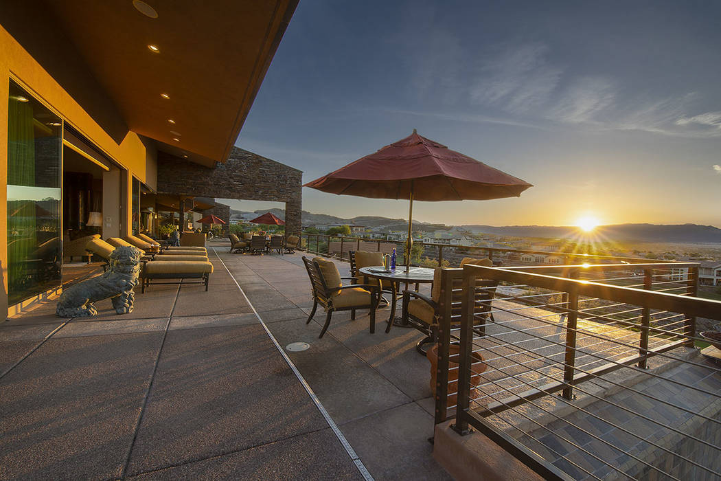 The patio can accommodate more than 300 people. (Synergy/Sotheby's International Realty)