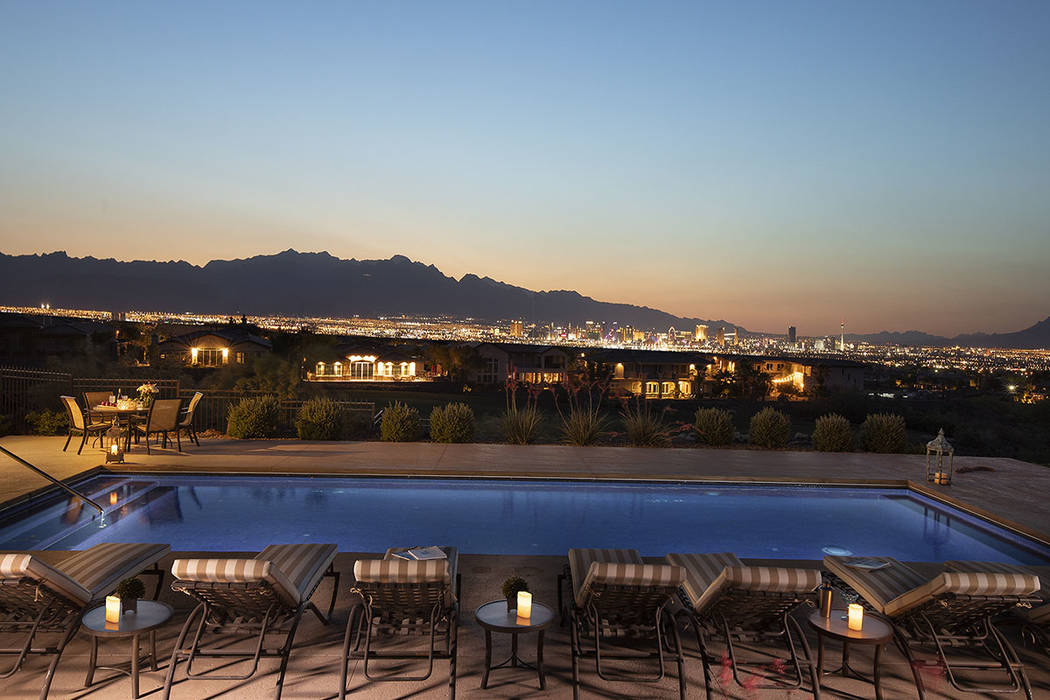 Views of the Strip. (Synergy/Sotheby's International Realty)