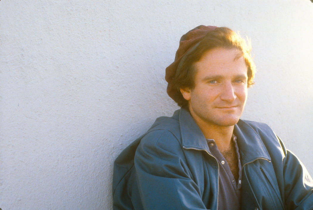 """Robin Williams as seen in the documentary """"Robin Williams: Come Inside My Mind."""" photo: Sonya Sones/HBO"""