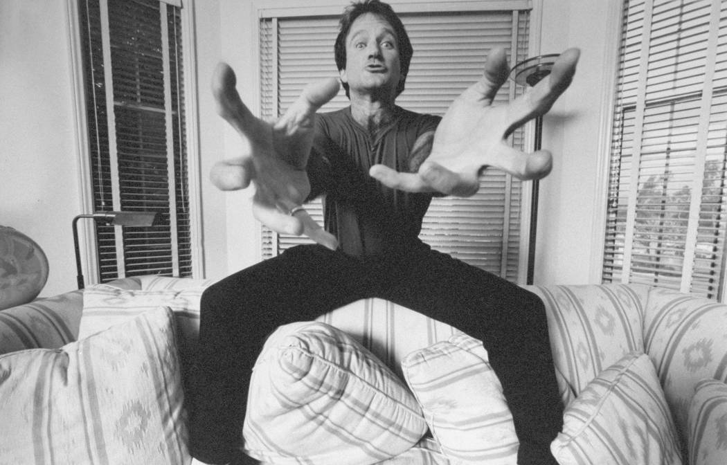 """Robin Williams as seen in the documentary """"Robin Williams: Come Inside My Mind."""" photo: HBO"""