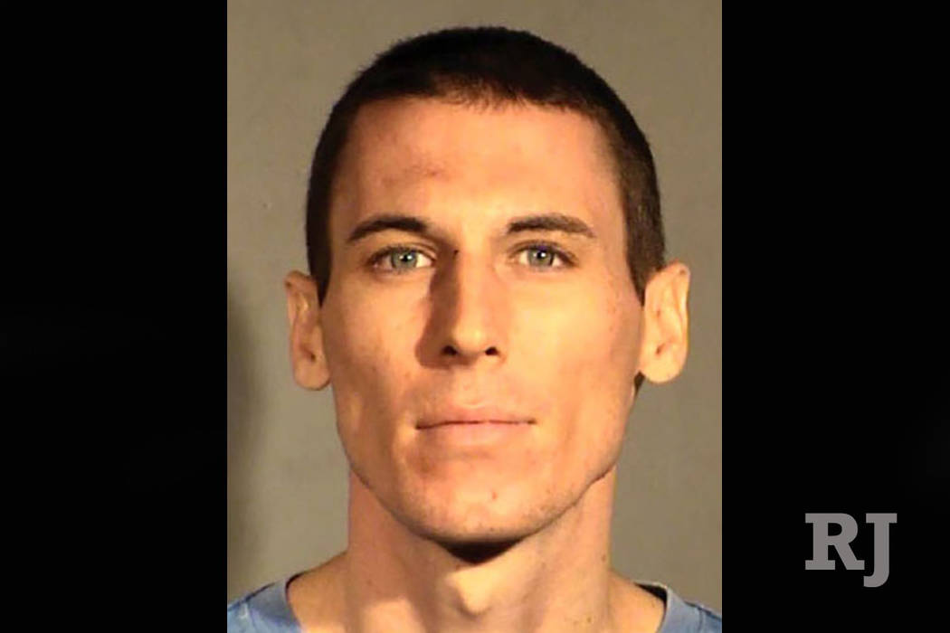 Caleb Edward Blaylock, 27, of Las Vegas (Las Vegas Metropolitan Police Department)