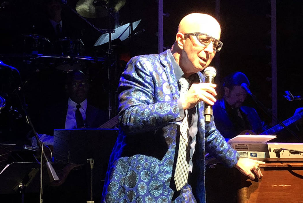 Paul Shaffer is shown at Cleopatra's Barge on Thursday, Jan. 4, 2018. (John Katsilometes/Las Vegas Review-Journal) @JohnnyKats