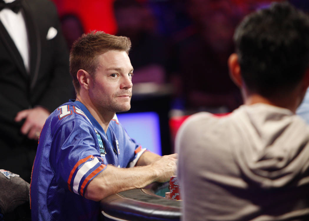 Tony miles john cynn go heads up in wsop main event las vegas review journal - Final table world series of poker ...