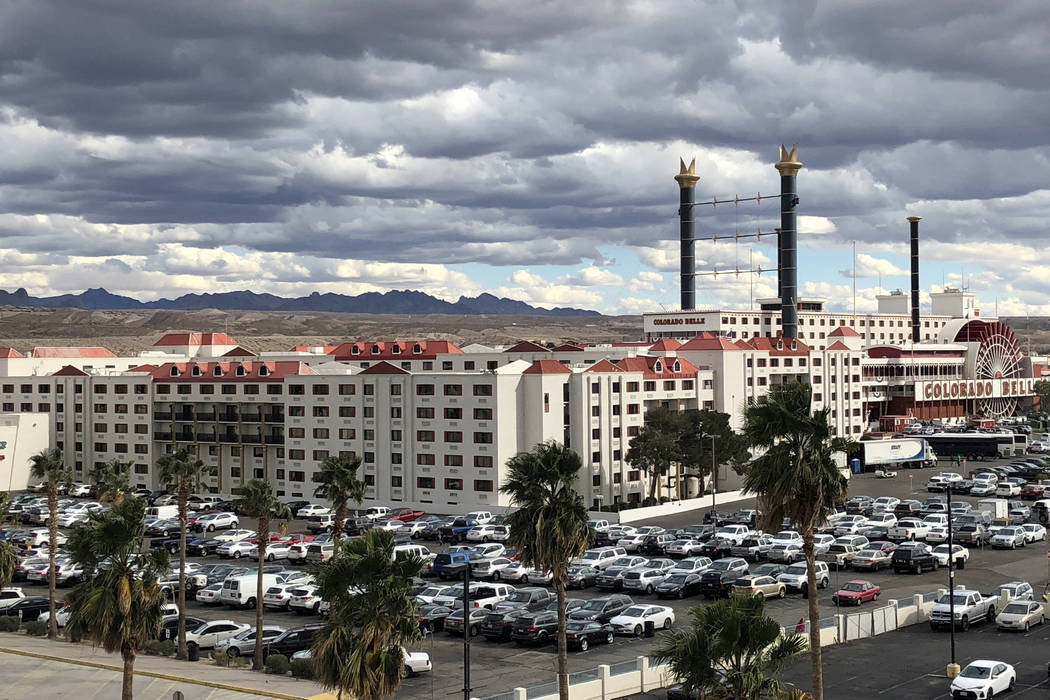 Colorado Belle Hotel & Casino Resort in Laughlin on March 17, 2018. (Todd Prince, Review-Journal)