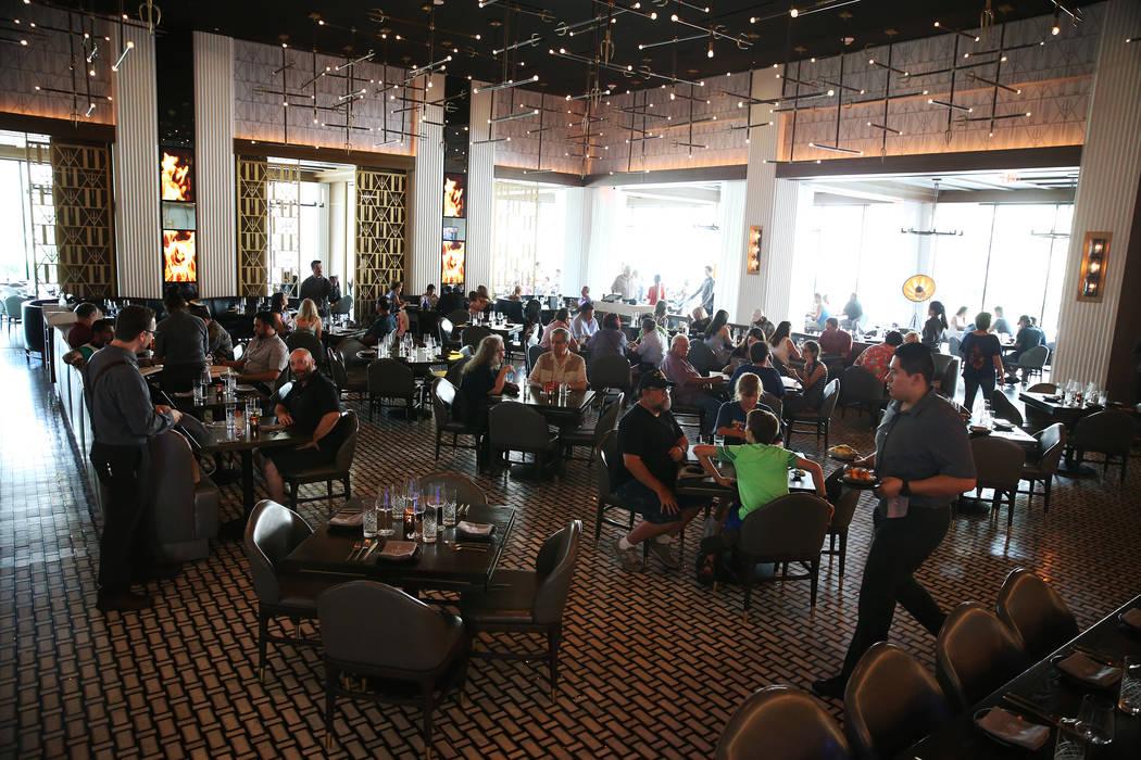 Gordon Ramsay Hell's Kitchen in Las Vegas, Tuesday, July 17, 2018. Erik Verduzco Las Vegas Review-Journal @Erik_Verduzco
