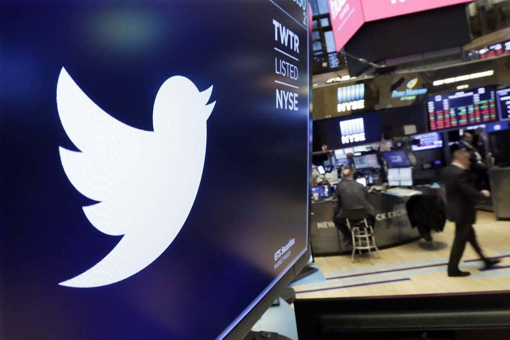 Twitter suspended at least 58 million user accounts in the final three months of 2017, according to data obtained by The Associated Press. (Richard Drew/AP, File)