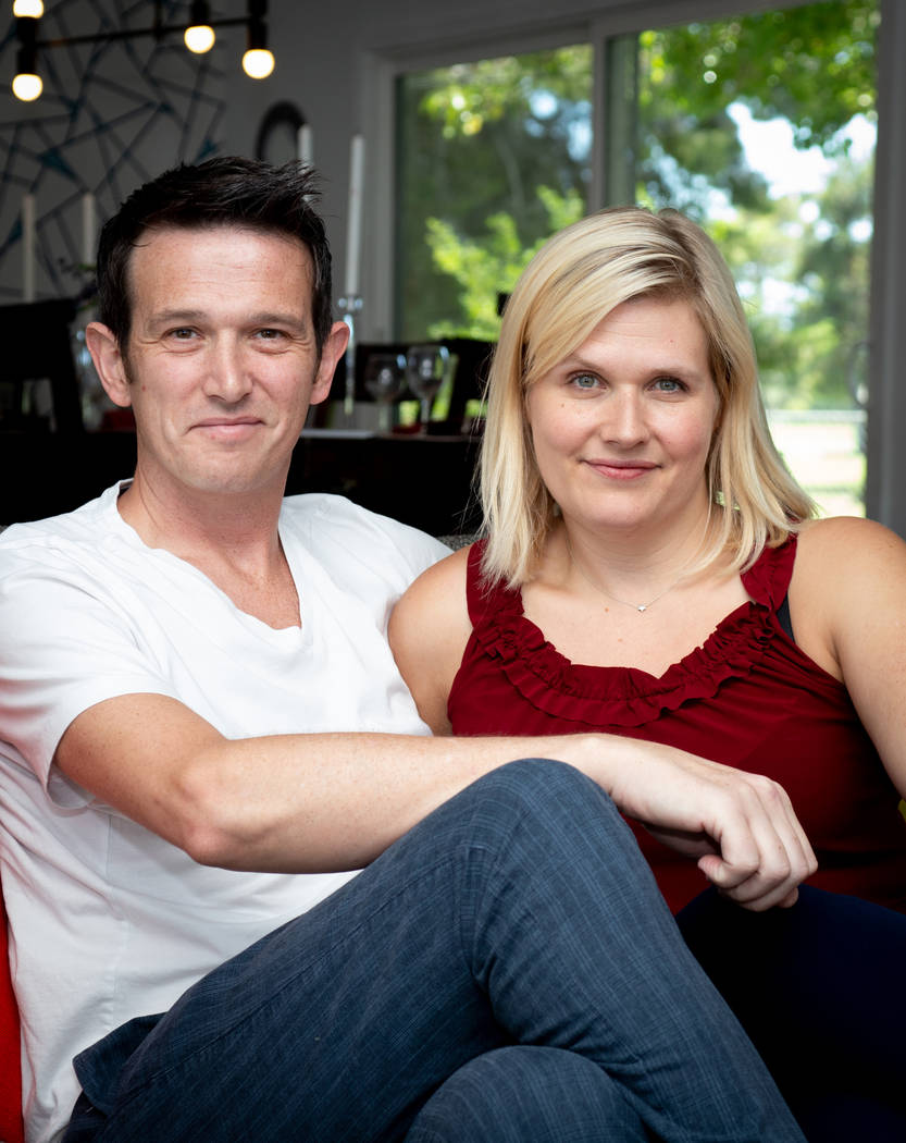 Professional photographers Mark and Sarah Gascoine. (Tonya Harvey Real Estate Millions)