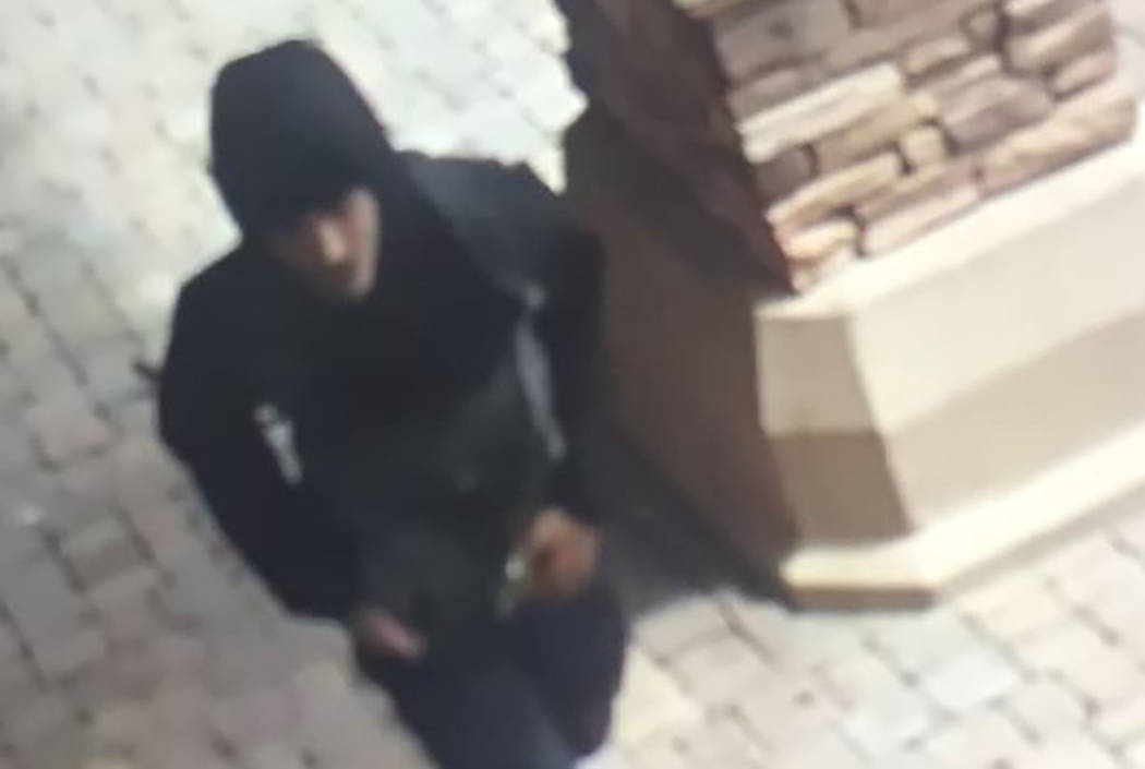 Suspect in robberies of three Las Vegas businesses (Las Vegas Metropolitan Police Department)