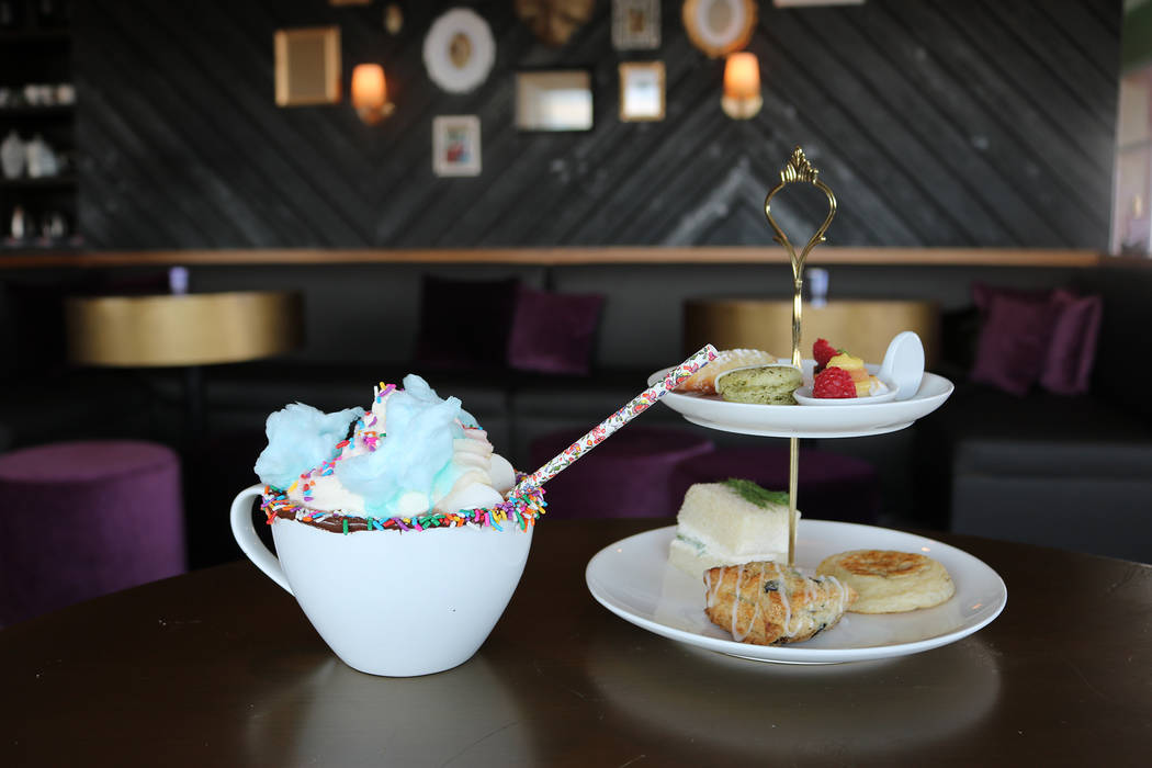 The Stove in Henderson serves Unicorn Hot Chocolate as part of their brunch menu. Janna Karel Las Vegas Review-Journal