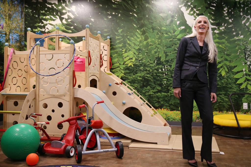 Neuropsychologist Erin Honke at the Touro University Nevada Center for Autism and Developmental Disabilities in Henderson, Tuesday, July 10, 2018. Erik Verduzco Las Vegas Review-Journal @Erik_Verduzco