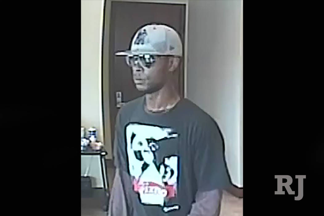 Henderson detectives are asking for the public's help in finding a man they said robbed a bank July 17, 2018. (Henderson Police Department)