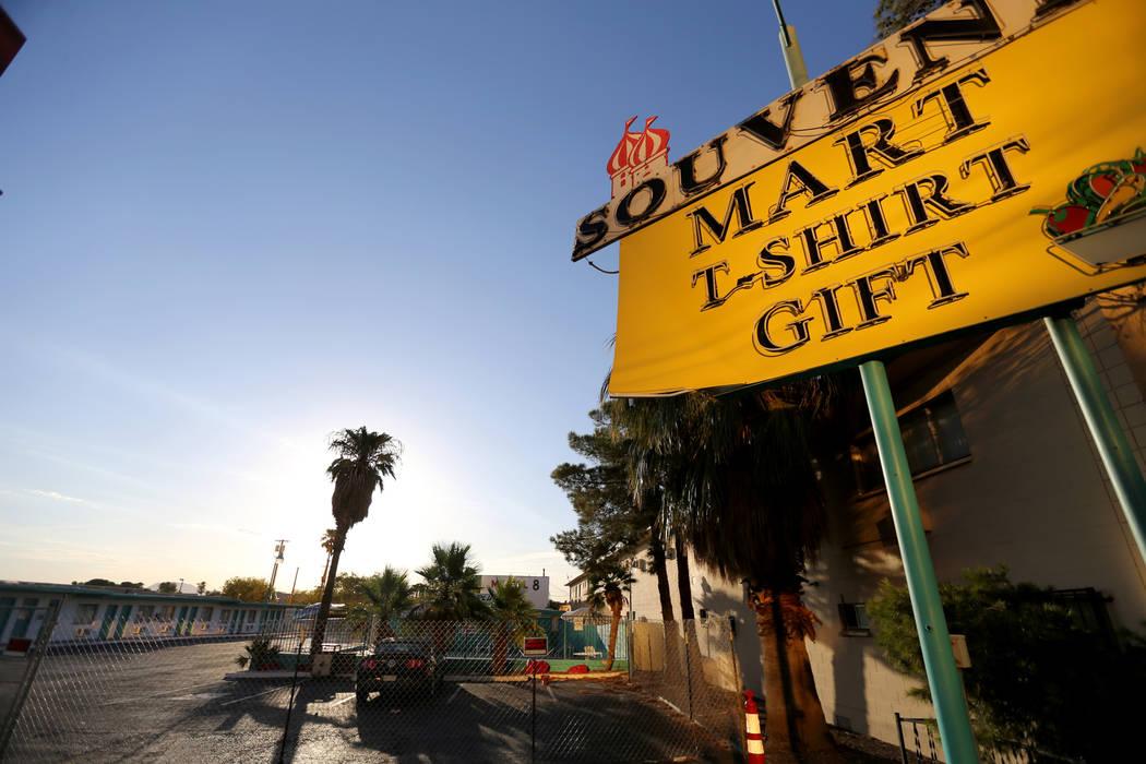 The closed Motel 8 on the south Strip in Las Vegas Thursday, July 19, 2018. K.M. Cannon Las Vegas Review-Journal @KMCannonPhoto