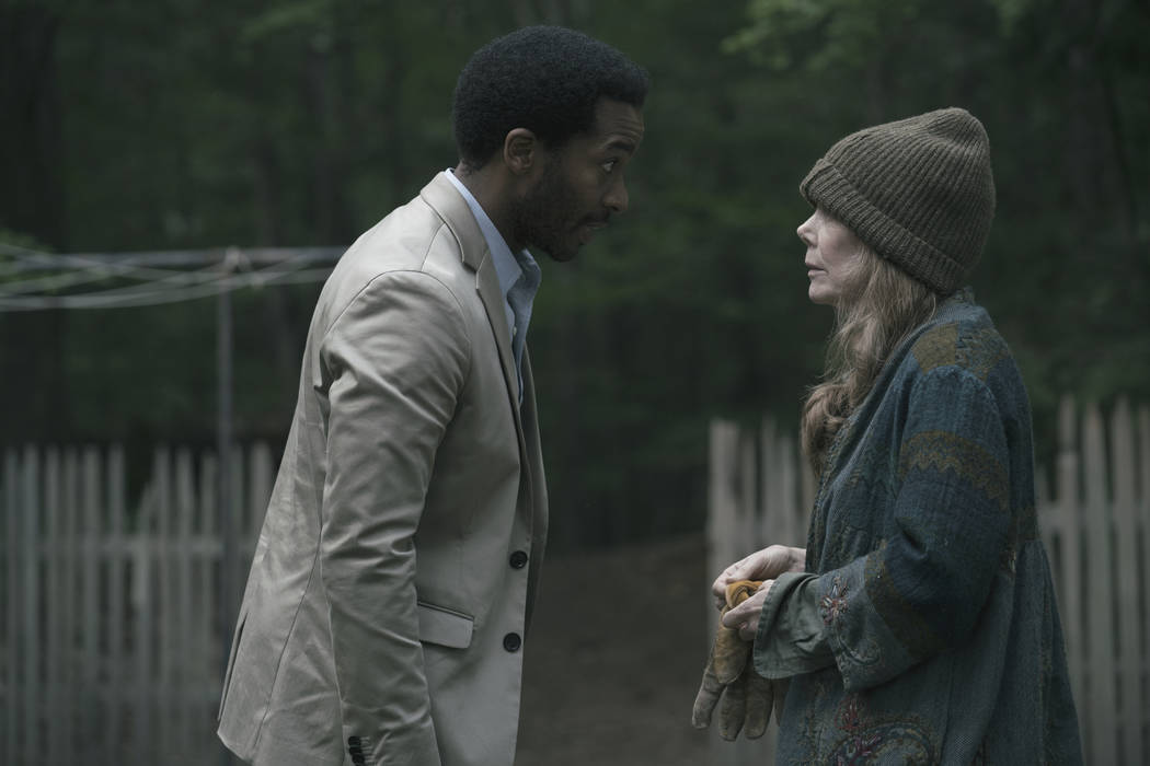 "Henry Deaver, a death-row attorney, confronts his dark past when an anonymous call lures him back to his hometown of Castle Rock, Maine in ""Castle Rock"". ( Patrick Harbron/Hulu)"