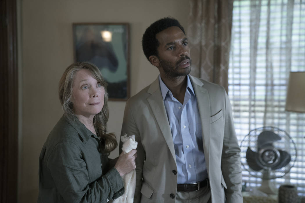 "An anonymous phone call lures death-row attorney Henry Denver back to his home town of Castle Rock, Maine in ""Castle Rock"". ( Patrick Harbron/Hulu)"