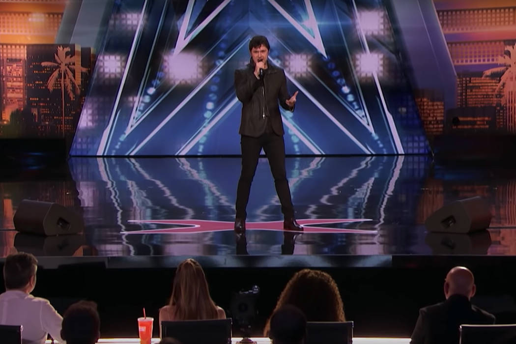 """Daniel Emmet learned a new song Tuesday night. He also survived his audition — two of them, actually — on """"America's Got Talent."""" (YouTube)"""