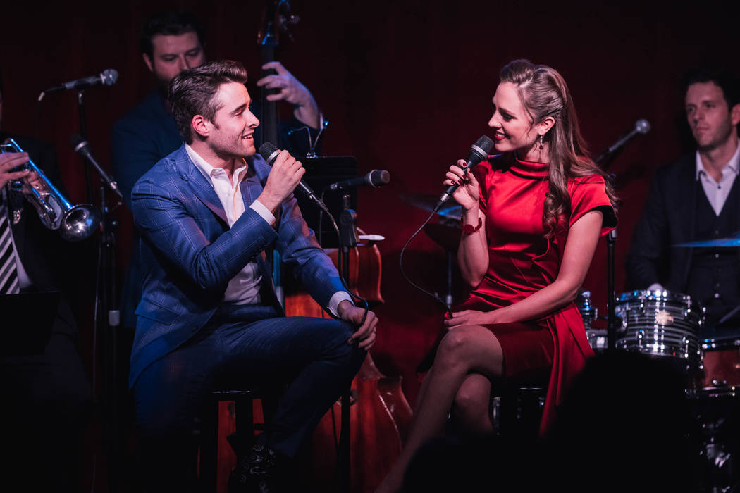 """The Smith Center for the Performing Arts """"Bandstand"""" stars Corey Cott, Laura Osnes share the stage at New York City's Birdland."""