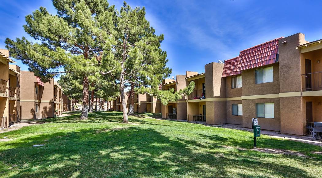 Tower 16 Capital Partners bought the 512-unit Foothill Village, 6255 W. Tropicana Ave. in Las Vegas, in a joint venture with Henley USA for $50 million. (Anton Communications)