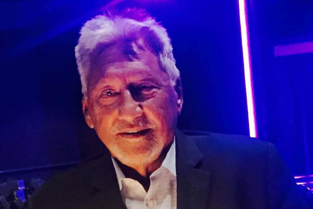 Domenic Strano ran the showrooms at Harrah's Las Vegas for 30 years. (Alan Glist)