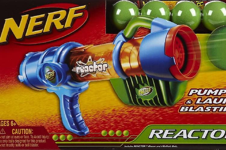 NERF toy. (Courtesy, Hasbro.com)