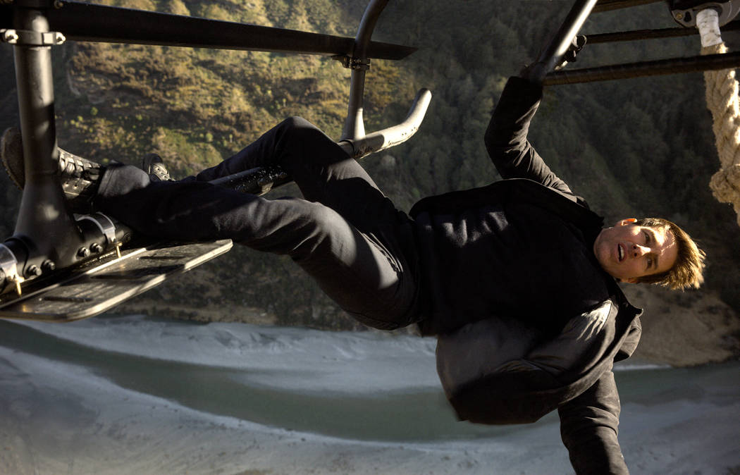 """Tom Cruise as Ethan Hunt in """"Mission:Impossible-Fallout"""", from Paramount Pictures and Skydance."""