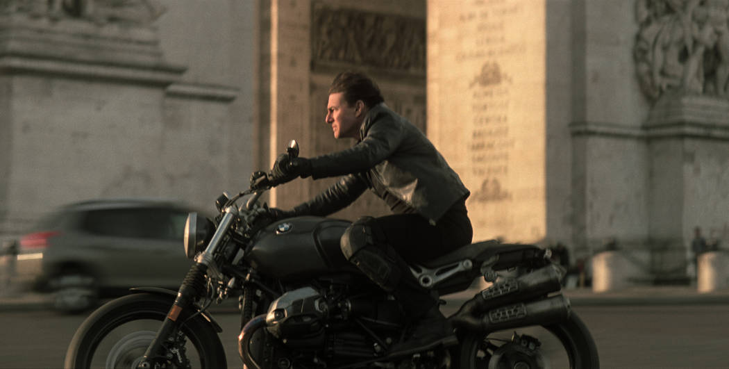 """Tom Cruise as Ethan Hunt in in """"Mission:Impossible-Fallout"""", from Paramount Pictures and Skydance."""