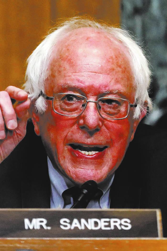 Sen. Bernie Sanders. (AP Photo/Carolyn Kaster)