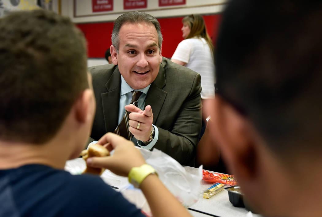 Clark County school's superintendent Jesus Jara. David Becker/Las Vegas Review-Journal Follow @davidjaybecker