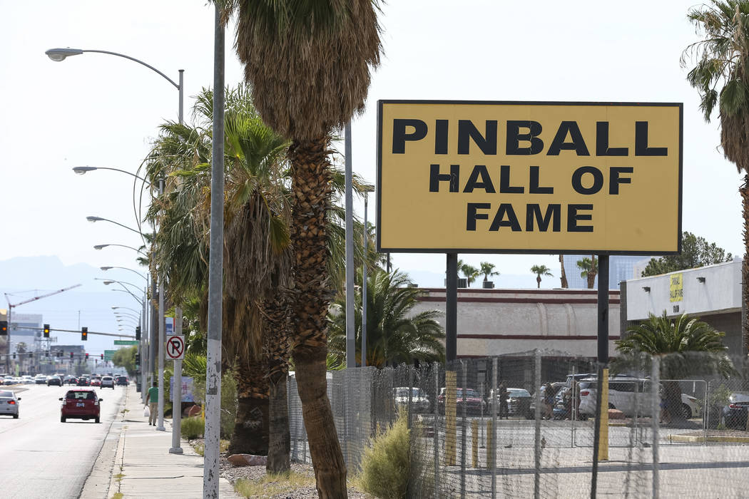 The Pinball Hall of Fame located at 1610 E. Tropicana Avenue in Las Vegas on Saturday, July 28, 2018. Richard Brian Las Vegas Review-Journal @vegasphotograph