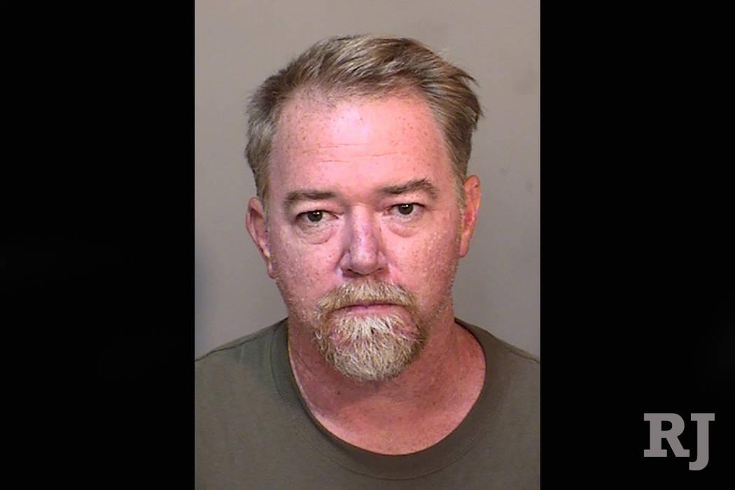 Aaron Justin Campbell. (Las Vegas Metropolitan Police Department)