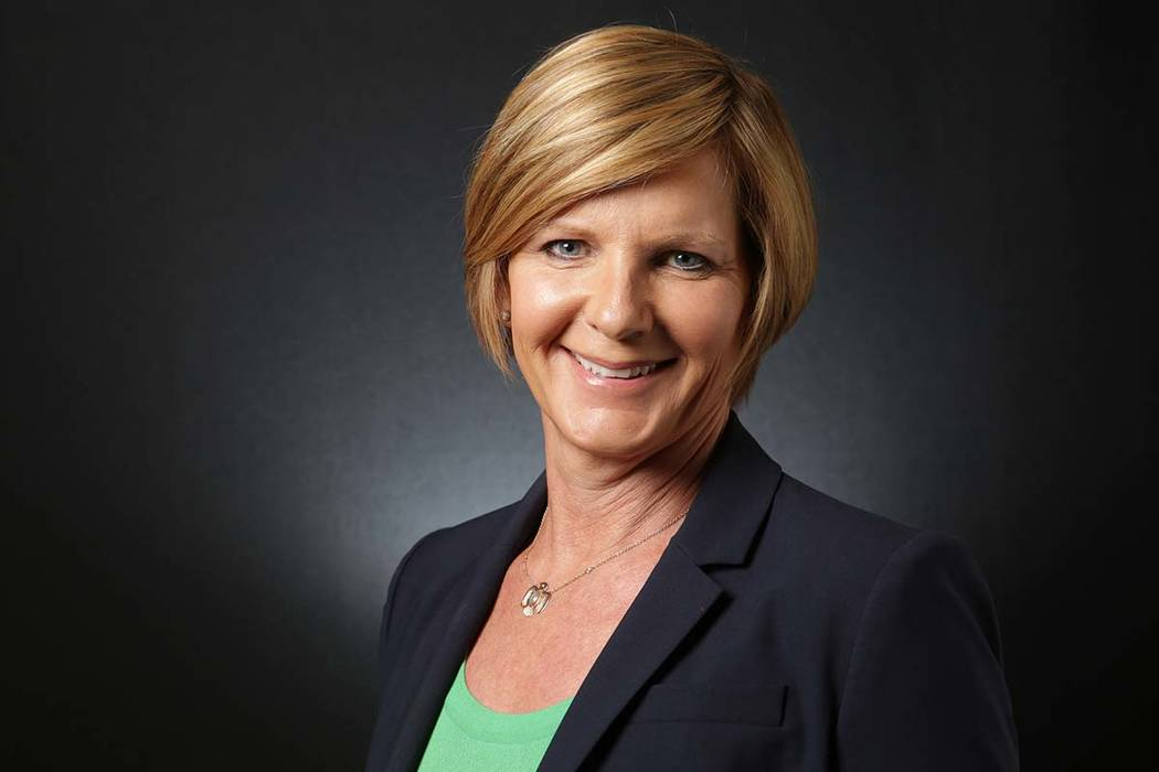 Susie Lee, Democratic candidate for the 3rd Congressional District (Michael Quine/Las Vegas Review-Journal) @Vegas88s