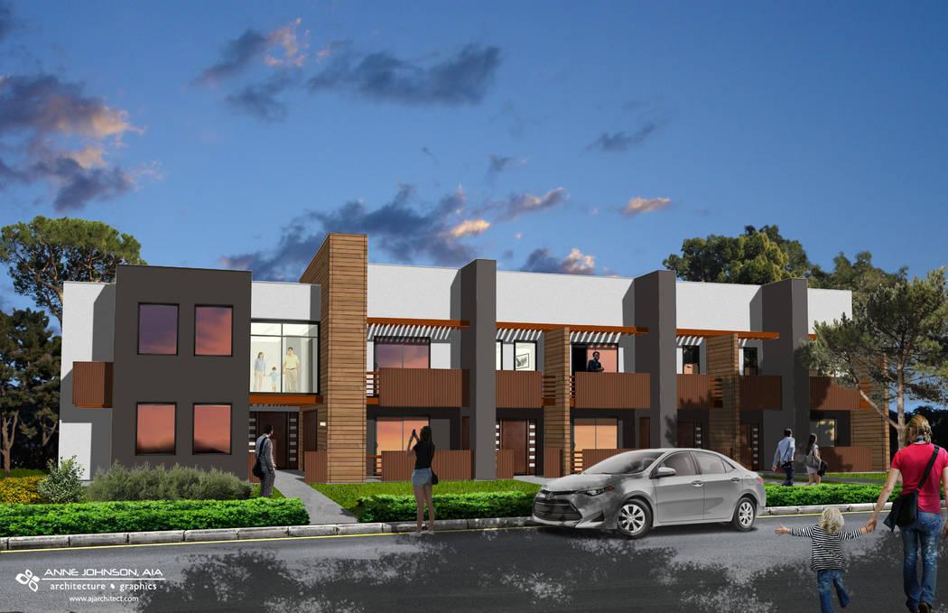new las vegas public housing project planned las vegas review journal