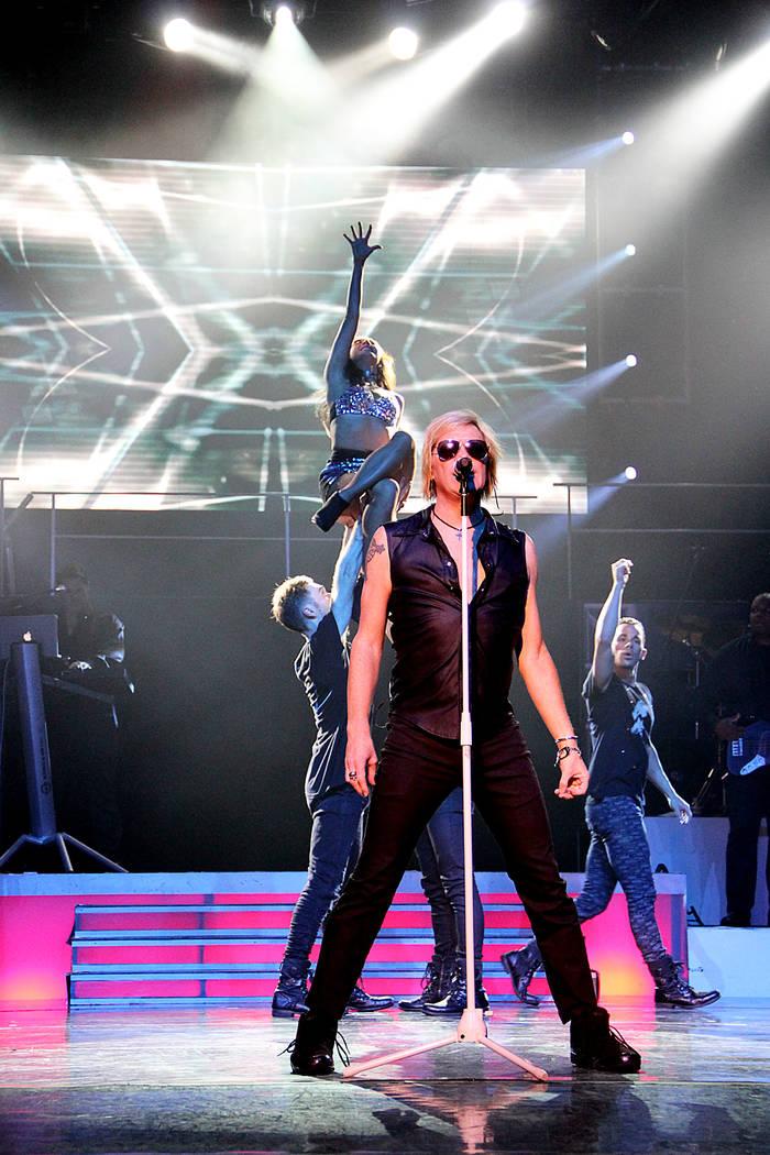 "Jason Morey as Jon Bon Jovi is shown performing as reggae legend Bob Marley at ""Legends in Concert"" at Flamingo Las Vegas on Tuesday, July 24, 2018. (Legends in Concert)"