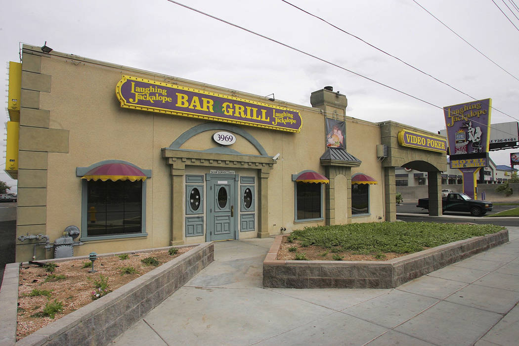 The Laughing Jackalope Bar & Grill is shown in this May 20, 2005, photo. (Gary Thompson/Las Vegas Review-Journal)