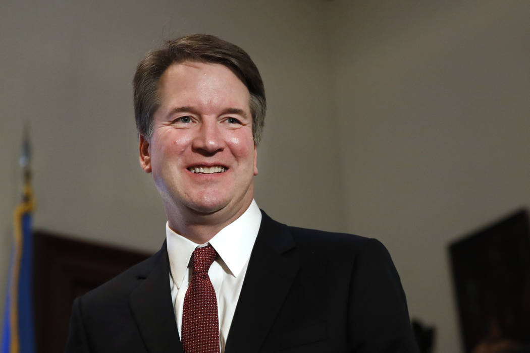 Supreme Court nominee Judge Brett Kavanaugh. (AP Photo/Jacquelyn Martin)